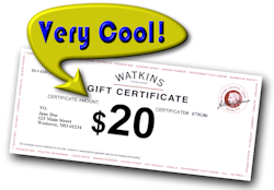 Gift Certificate $20 Cool
